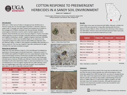 CottonReponsetoPreEmergentHerbicides2015