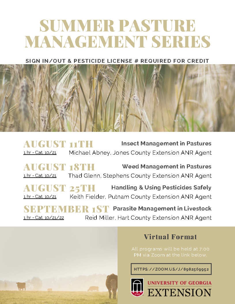 Summer Pasture Management Series Flyer (Compressed)_Page1