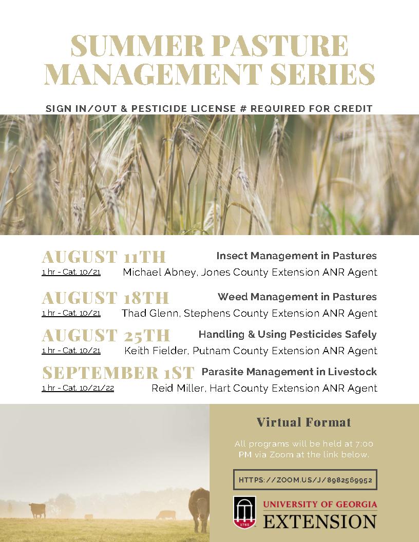 Summer Pasture Management Series Flyer (Compressed)_Page1