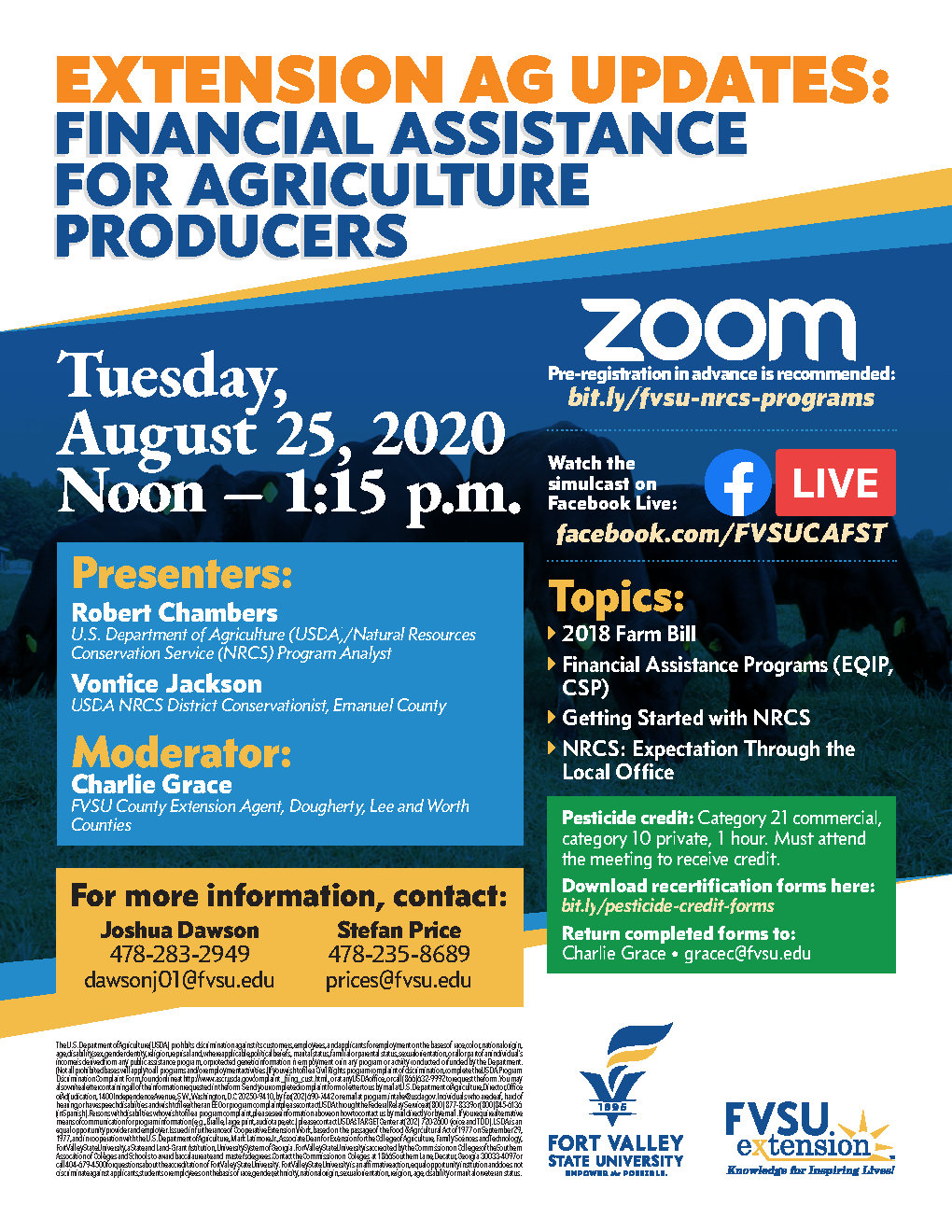 August 25th Ag Update-flyer